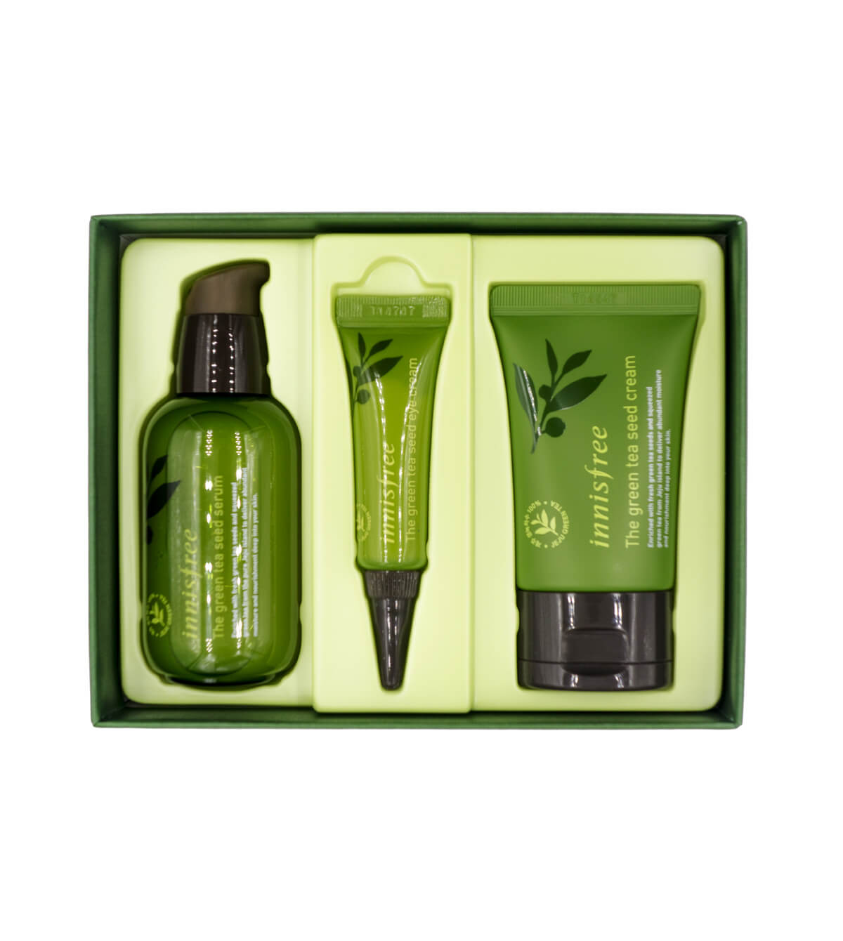 Innisfree The green tea seed serum kit set